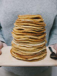 Free Pancake Tray Royalty Free Stock Photos - 88564278