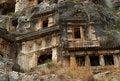 Free Rock Tombs, Myra, Turkey Royalty Free Stock Photo - 8868985