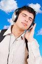 Free Listening Music Stock Photo - 8869730