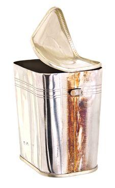 Rusty Tin Can Stock Photo