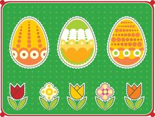 Free Easter Eggs Stock Image - 8860601