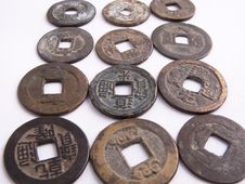 Free Old Coins Stock Photos - 8860953
