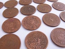 Free Tibet Coins Stock Images - 8860964