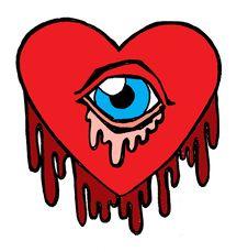 Free Bleeding Heart Cyclops Royalty Free Stock Photography - 8860997