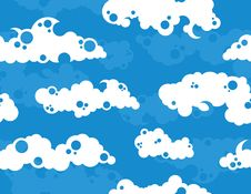 Free Cloudy Sky Background Royalty Free Stock Images - 8861009