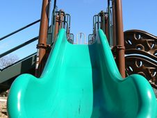 Free Looking Up The Slide Royalty Free Stock Photo - 8861485