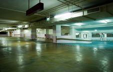 Free Carpark Interior Royalty Free Stock Photography - 8861737