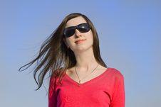 Free Closeup Portrait Of A Beautiful Young Woman Stock Photo - 8862260