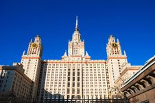 Free Moscow State University Stock Photo - 8862700