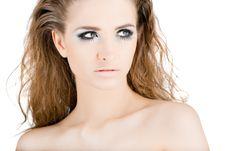 Free Young Beautiful Woman Portrait Stock Image - 8863841