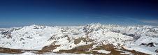Free Ski Resort Tignes Panorama Royalty Free Stock Photography - 8864147
