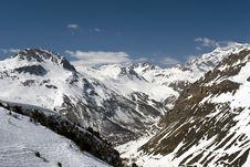 Free Ski Resort Tignes Royalty Free Stock Images - 8864359
