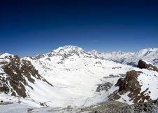 Free Ski Resort Tignes Royalty Free Stock Images - 8864379