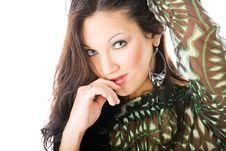 Free Young Woman Portrait, Studio Shoot Stock Image - 8864881