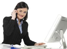 Beautiful Businesswomen Royalty Free Stock Images
