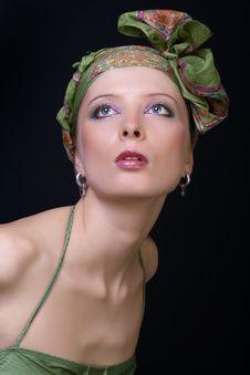 Free Portrait Of Beautiful Stylish Woman. Stock Images - 8865064