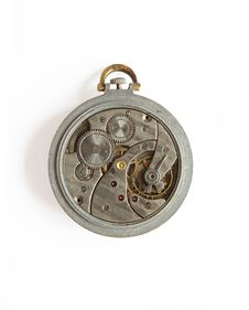Free Old Watch Mechanism Royalty Free Stock Photos - 8865908