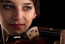 Free Violin Playing Closeup Royalty Free Stock Images - 8865999