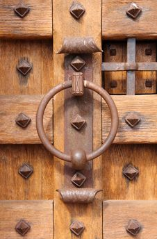 Free Old Wooden Door Royalty Free Stock Photo - 8866055
