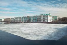 Free Winter Palace Stock Images - 8866404