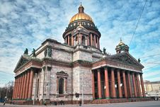 Free Isaac Cathedral In Saint Petersburg Royalty Free Stock Photos - 8866418