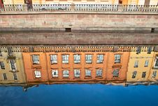 Free Reflections Of Old Buildings Stock Photos - 8866433