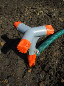 Free Watering Device Royalty Free Stock Photography - 8866577