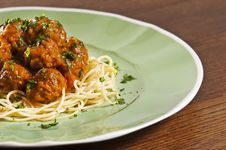 Free Meatballs Stock Photography - 8867462