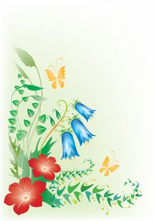 Free Floral Design Stock Image - 8867611