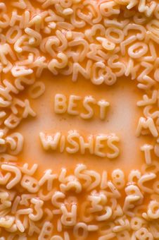 Free Best Wishes Stock Photo - 8867790