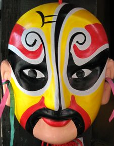 Free Chinese Opera Masks Royalty Free Stock Photos - 8868628