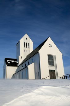 Free Icelandic Church Stock Photo - 8869590