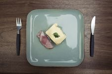 Free Plate Of Non-food. Stock Photos - 8869893