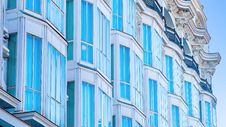 Free Row Of Modern Town House Buildings Stock Photo - 88627290