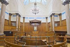 Free St Georges Hall Court Room Royalty Free Stock Images - 88692179