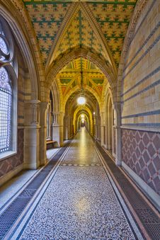 Free Manchester City Hall Corridor Royalty Free Stock Photography - 88692187