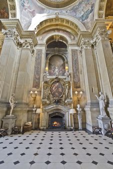 Free Castle Howard The Great Hall Stock Image - 88692201