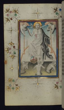 Free Illuminated Manuscript, Book Of Hours, Last Judgment, Walters Art Museum Ms. W.165, Fol. 100v Royalty Free Stock Photography - 88694297