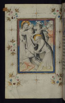 Free Illuminated Manuscript, Book Of Hours, The Arrest Of Christ, Walters Art Museum Ms. W.165, Fol. 13v Royalty Free Stock Photos - 88694318