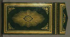 Free Illuminated Manuscript Koran, Binding, Walters Art Museum Ms. W.552, Lower Board Outside Stock Photography - 88694422