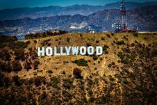 Free Lighted Hollywood Signage During Daytime Stock Photos - 88695003