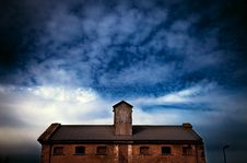 Free Storm Clouds Over Building Stock Photography - 88696312