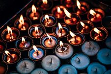 Free Candle Background Royalty Free Stock Photography - 88696687