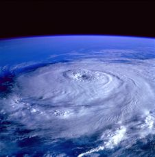 Free Eye Of The Storm Image From Outer Space Stock Photos - 88697173