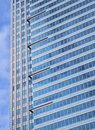 Free Modern Blue Glass Skyscraper Stock Photo - 8874610