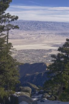 Free Palm Springs From Mount San Jacinto State Park Stock Photos - 8870463