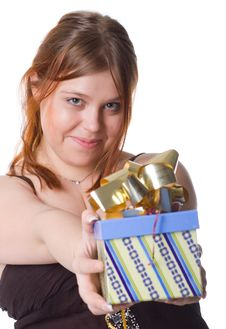 Free Gift Box Stock Photography - 8870592