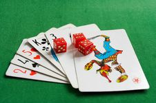 Free Cards And Joker Royalty Free Stock Images - 8870799