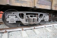 Free Train Wheels Stock Image - 8870881