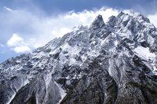 High Mountains Royalty Free Stock Photo